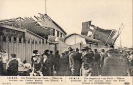 GUERRE 1914- 1918  WW1  Les Zeppelins Sur Paris- Effets De Bombes Sur L' Usine Martin  ... - Guerre 1914-18
