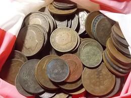 Lot 100 Coins Portuguese Monarchy (5, 10 And 20 Reis) - Monnaies & Billets