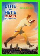 ADVERTISING - PUBLICITÉ - CENTRE NATIONAL DU LIVRE - LIRE EN FÊTE, OCTOBRE 1999 - - Publicité