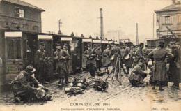 GUERRE 1914- 1918  WW1  Embarquement D' Infanterie  ... - Guerre 1914-18