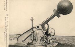 GUERRE 1914- 1918  WW1  Canon Allemand Pour Lancer Des Bombes Incendiaires  ... - Guerre 1914-18