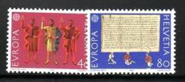 SWITZERLAND  1982 EUROPA CEPT  MNH - 1982