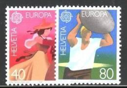 SWITZERLAND 1981 EUROPA CEPT MNH - 1981