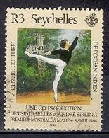 Seychelles 1986 - Visit Of Ballet Du Louvre Company, Giselle - Seychelles (1976-...)