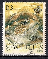 Seychelles 1988 -  The Green Turtle - Seychelles (1976-...)