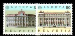 SWITZERLAND 1990 EUROPA CEPT  MNH - 1990