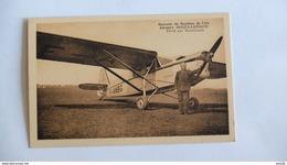 OUGES LONGVIC  _ SOUVENIR DU BAPTEME DE L AIR _  PILOTE PAR MONTCHANIN _ AEROPORT  …………AY-1963 - Aérodromes