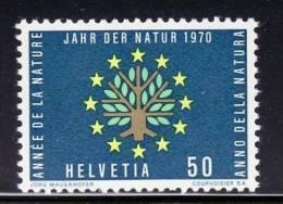 SWITZERLAND 1970  EUROPEAN NATURE  MNH - Europese Gedachte