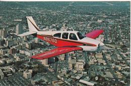 The Beechcraft C33 Debonaire Over San Antonio  Texas - Non Classés