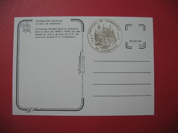 Carte  1984 -  Château De Rambures  Dans La Somme - Forteresse Féodale - Commemorative Postmarks