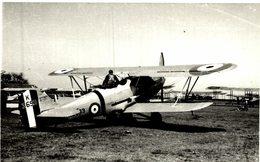 HAWKER AUDAX     16 * 10 CM Aviation, AIRPLAIN, AVION AIRCRAFT - Aviación