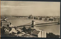 °°° 13207 - HUNGARY - BUDAPEST - DUNAI LATKEP - 1957 With Stamps °°° - Ungheria