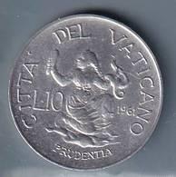 VATICANO VATIKAN VATICAN  1961 GIOVANNI XXIII 10 LIRE - Vaticano