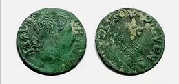 FERDINAND CHARLES Ardennes Denier Tournois Cugnon Type 8 CGKL R5 - 476-1789 Monnaies Seigneuriales