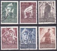 Austria/1947 - Prisoners Of War Fund/Kriegsgefangene Ausgabe - Set - USED - 1945-.... 2ème République