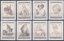 Austria/1969 - Albertina 200th Anniv./200 Jahre Albertina - Set  - MNH - 1945-.... 2nd Republic