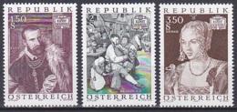 Austria/1971 - Art Treasures 2nd Series/Kunstschätze 2 - Set - MNH - 1945-.... 2nd Republic