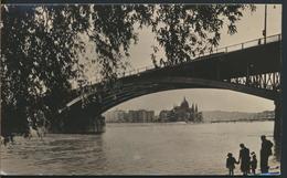 °°° 13209 - HUNGARY - BUDAPEST - DUNAI LATKEP - 1957 With Stamps °°° - Ungheria