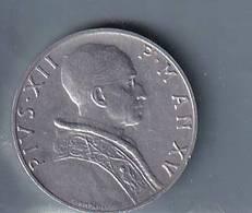 VATICANO VATIKAN VATICAN  1953  PIO XII  5 LIRE + 10 LIRE - Vaticano