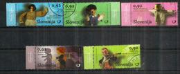 SLOVENIE. Les Marionnettes , Série Complète Oblitérée Nr 706/10, 1 ère Qualité,  Année 2010 - Slovénie