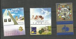 Israël N°1845, 1849, 1853 Neufs** Cote 3.75 Euros - Israel