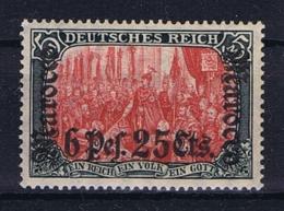 Deutsches Reich:  Marokko Mi 45 MH/* Flz/ Charniere - Deutsche Post In Marokko