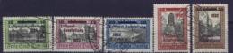 Deutsche Reich :  Danzig Mi 231 - 235 Luposta Obl./Gestempelt/used - Danzig