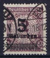 Deutsches Reich Mi 332 AW  Obl./Gestempelt/used Signed/ Signé/signiert Infla - Duitsland