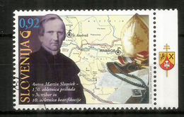 A.M Slomsek, Protecteur De La Culture Slovène. Un Timbre Oblitéré 1 ère Qualité, Année 2009 - Eslovenia