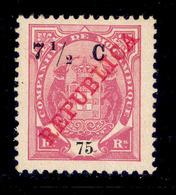 ! ! Mozambique Company - 1916 Elephants 7 1/2 C - Af. 99 - MH - Mozambique