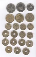 Lot De 21 Monnaies Commémoratives Espagne / Spain Pesetas - Avant L'Euro - TTB à Sup - [ 5] 1949-… : Royaume