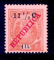 ! ! Mozambique Company - 1916 Elephants 11 1/2 C - Af. 101 - MH - Mozambique