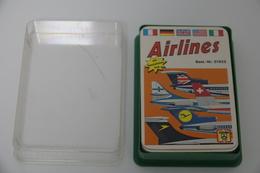 Speelkaarten - Kwartet, Airlines, Nr 51922, FX Schmid, *** - - Cartes à Jouer Classiques