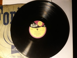 Fonit  - 1956   Nr. 15772. Giacomo Rondinella - 78 Rpm - Schellackplatten