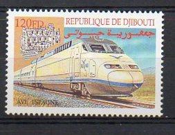 DJIBOUTI. TRAINS. MNH (2R3534) - Eisenbahnen