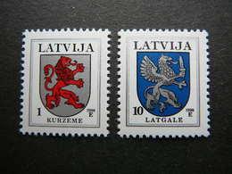 Definitive Issues. Arms # Latvia Lettland Lettonie # 1998 MNH # Mi. 371,374 AIV - Latvia