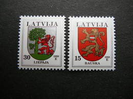 Definitive Issues. Arms # Latvia Lettland Lettonie # 1998 MNH # Mi. 485/6 AI - Letland