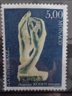 MONACO 1990 Y&T N °1747 ** - 150e ANNIV. DE LA NAISSANCE DU SCULPTEUR AUGUSTE RODIN - Nuevos