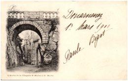 56 LE FAOUET - L'arche De La Chapelle St-Michel De Ste-Barbe - Le Faouet