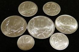 Armenia Serie 10  20 50 Luma 1 3 5 10 Dram 1994 - Armenia