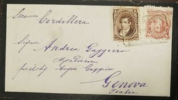 O) 1883 ARGENTINA, ENDORSED CORDILLERA- AS OWNED BY  PACIFIC STEAM NAVIGATION CO, IT WEIGHED 2,860 TONS AND WAS BUILT-RA - Argentina