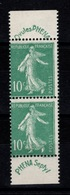 YV 188 Ovules Phena N** (timbres Et Bandelette) Paire Verticale De Carnet Tres Frais - Unused Stamps