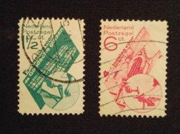 Nederland/Netherlands - Nrs. 238/239 (Goudse Glazen) - Period 1891-1948 (Wilhelmina)