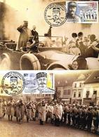 2019 - BERTHELOT  HENRI VISIT IN SIBIU - 2 JANUARY 1919 - 2 Maximum Cards - Maximumkarten (MC)