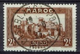 French Morocco, Ouarzazate, 2f., 1933, VFU Superb Postmark CASABLANCA PORT - Morocco (1891-1956)