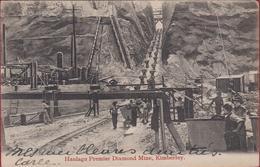 Zuid-Afrika Haulage Premier Diamond Mine Afrique Du Sud South Africa Mining Diamant Kimberley 1908 Circulé - Afrique Du Sud