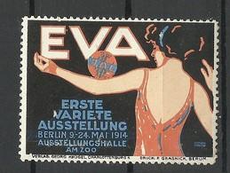 GERMANY 1914 First Variete Expo EVA Berlin Advertising Stamp Werbemarke MNH - Erinnophilie