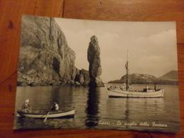 Cartolina  LIPARI Scoglio Della Fortuna   BARCHE - Sailing Vessels