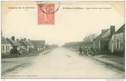 72.CIRCUIT DE LA SARTHE.N°27940.ST MARS LA BRIERE.LIGNE DROITE VERS CONNERRE - France