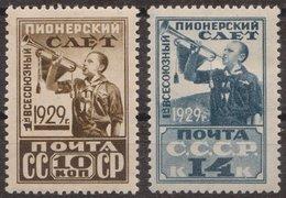 Russia 1929 Mi 363AX-364AX MH - 1923-1991 USSR